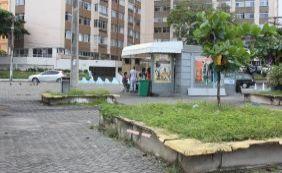 [Você Repórter: Praça Marconi sofre com o abandono por parte da prefeitura]