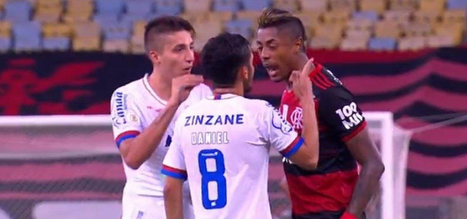 [Laudo do Bahia não vê racismo de Ramírez a Bruno Henrique]