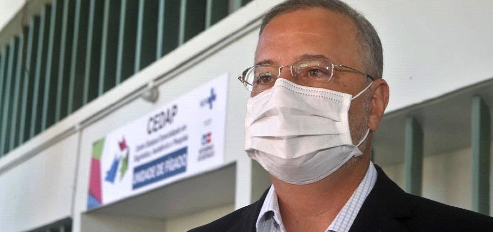 [Secretário estadual de Saúde critica exigências da Anvisa para vacina contra Covid-19]