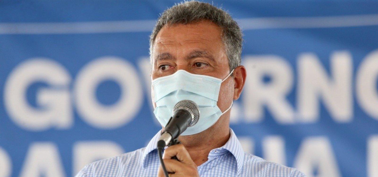 [Desastre na condução do Governo Federal atrasa vacinação no Brasil, diz Rui Costa]