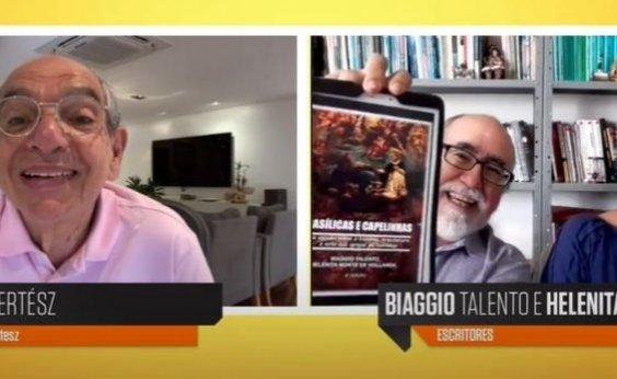 ['Basílicas e Capelinhas' ganhará lançamento virtual, anunciam Biaggio Talento e Helenita Hollanda]