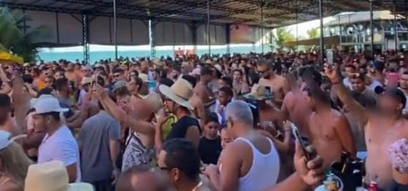 [Em uma semana, polícia interdita setenta festas irregulares em Porto Seguro]
