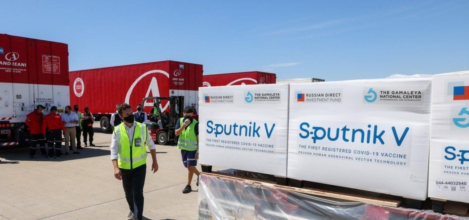 [Argentina perde 400 doses da Sputnik V; autoridades suspeitam de sabotagem]