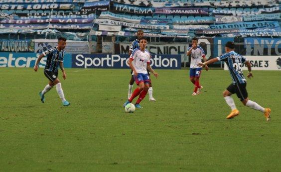 [Bahia perde para o Grêmio e se aproxima mais uma vez do Z-4]