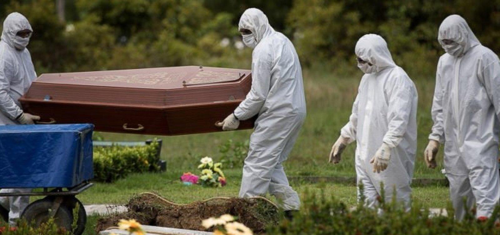 [Brasil chega a 200 mil mortes por Covid-19]