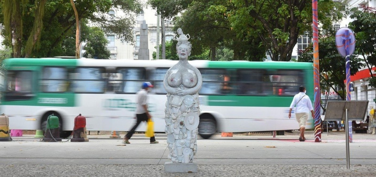 [Roteiro Urbano de Arte: projeto de arte contemporânea é instalado no centro histórico de Salvador]