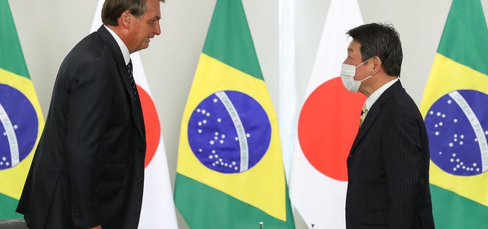 [Bolsonaro recebe convite para assistir à abertura de Tóquio 2020]