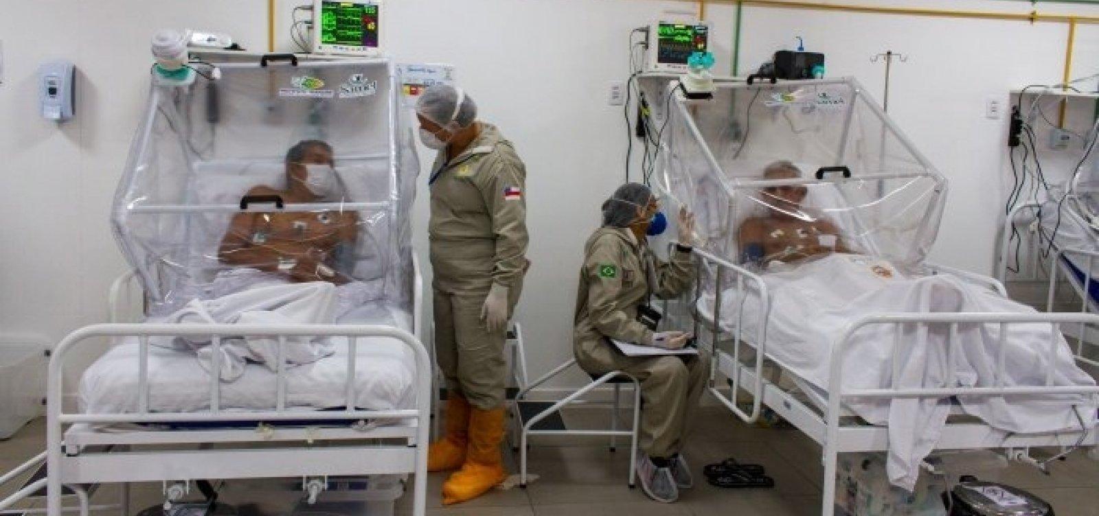 [Manaus: internações por Covid-19 em 9 dias superam o mês de dezembro inteiro]