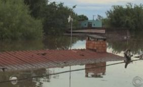 [Sobe o número de cidades atingidas pela chuva no Rio Grande do Sul]