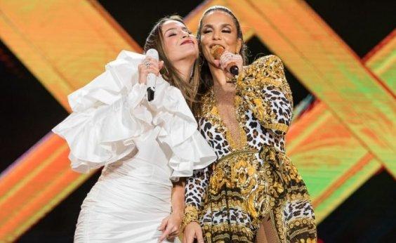 [Ivete Sangalo e Claudia Leitte farão live juntas no sábado de Carnaval]