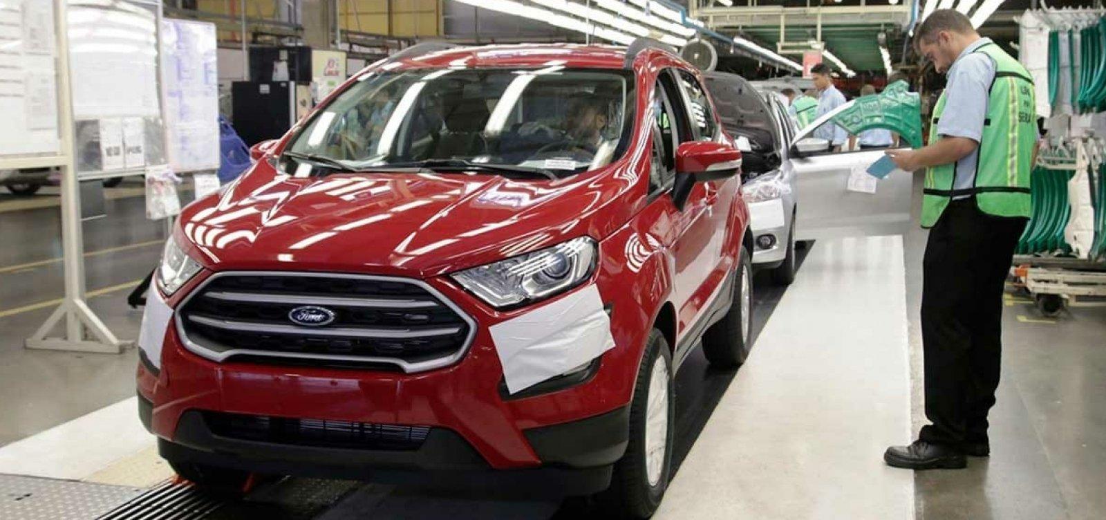 [Após 20 anos, fábrica da Ford em Camaçari será fechada; empresa decidiu encerrar produção em todo o Brasil ]