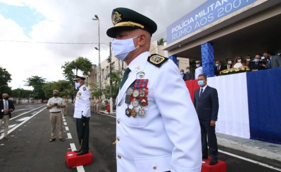 [Novo comandante, coronel Coutinho, é nomeado pela Polícia Militar da Bahia]