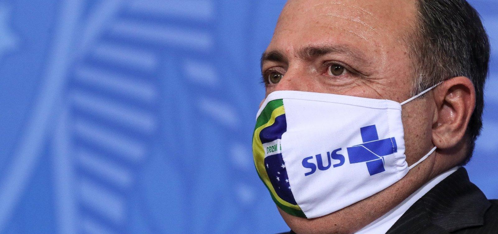 [Pazuello reconhece 'colapso' na saúde de Manaus ]