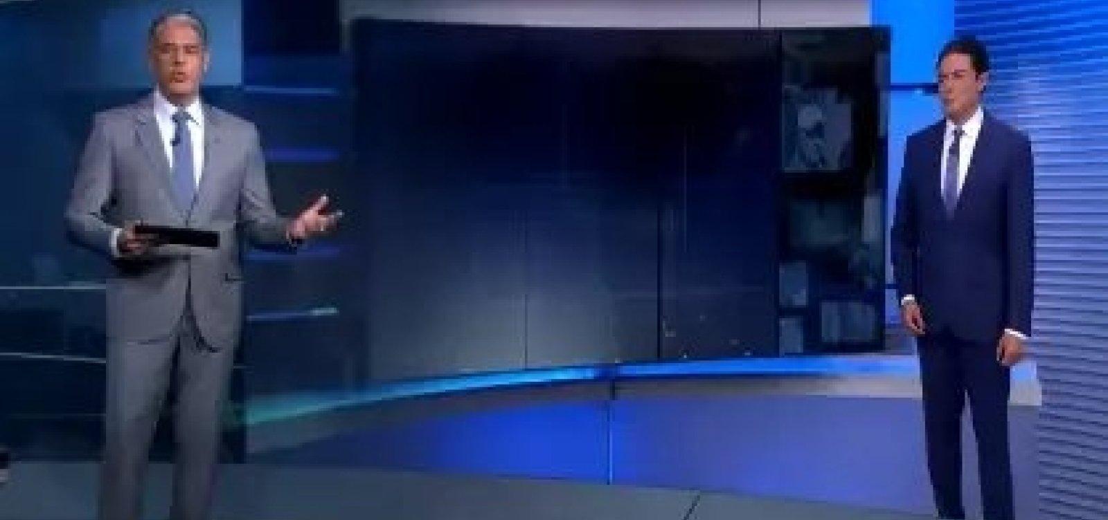 [William Bonner desabafa no JN sobre fake news: 'Estamos esgrimando com loucos'; veja]