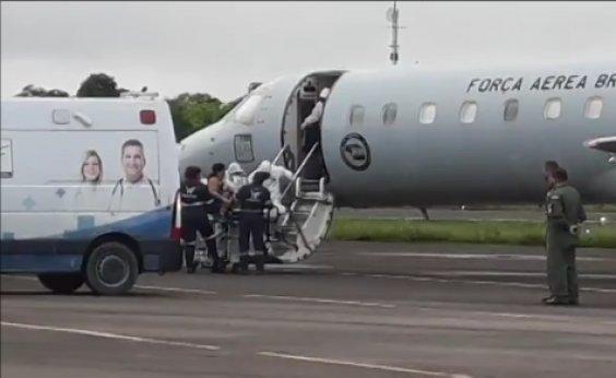 [Pacientes do Amazonas são transferidos para outros estados]