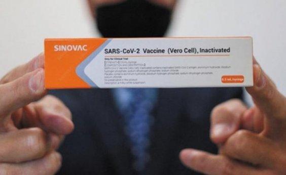 [Após Índia negar envio imediato de doses da vacina de Oxford, governo federal requisita Coronavac ]