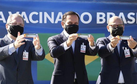[São Paulo quer iniciar vacinação contra a Covid-19 já na segunda-feira]