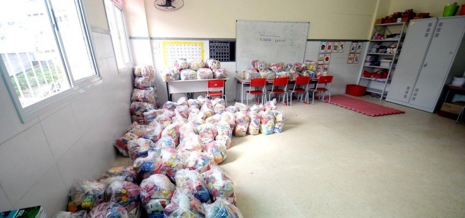 [Prefeitura de Salvador inicia nova etapa de entrega de cestas básicas para alunos nesta segunda]