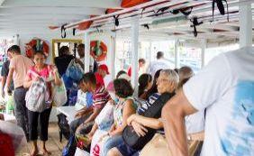 [Travessia Salvador-Mar Grande tem fluxo tranquilo nesta manhã de domingo; veja]