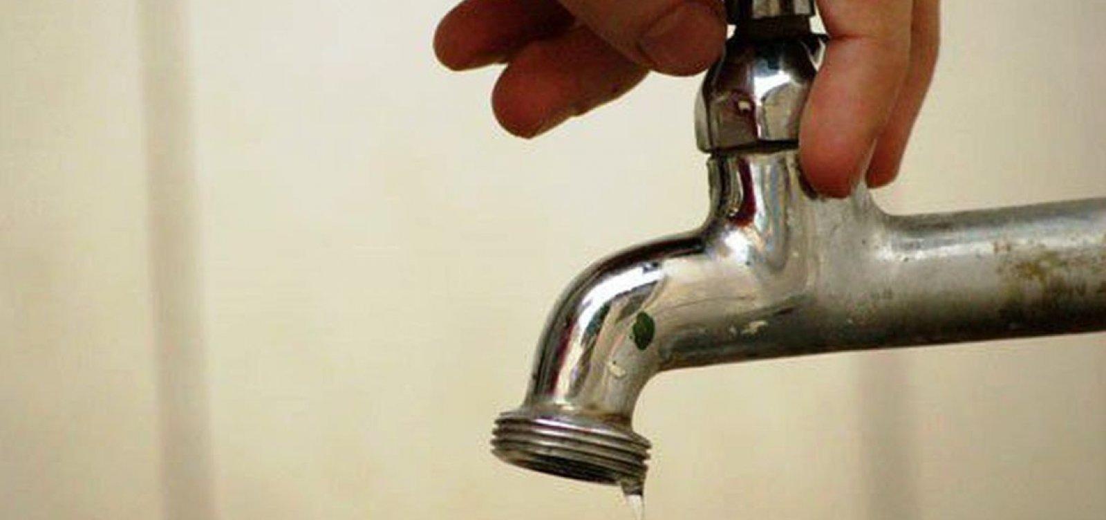 [Abastecimento de água será interrompido em pelo menos 14 bairros de Salvador nesta segunda; confira]