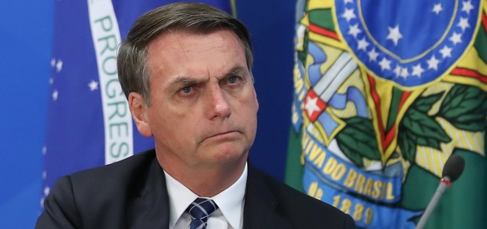 [Após chamar de 'vacina de Doria', Bolsonaro diz que imunizante 'não é de nenhum governador']