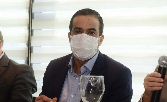 [Vacinação contra Covid-19 em Salvador começa nesta terça-feira, diz Bruno Reis]