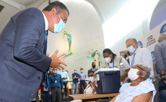 [Rui diz que início vacinação contra a Covid-19 é 'luz no fim do túnel' na Bahia]