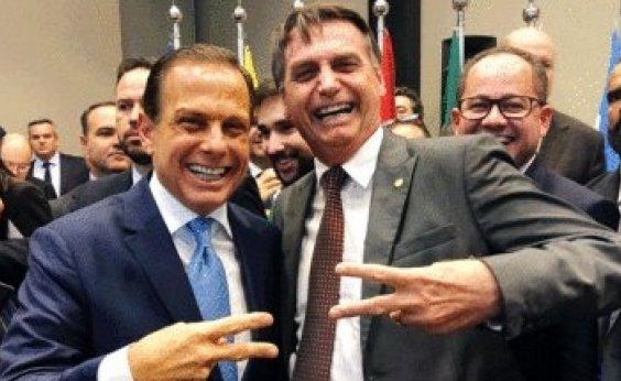 [Após início da vacinação, popularidade de Bolsonaro cai e de Doria cresce]