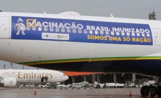 [Plano de exportação de vacinas da Índia ainda não inclui Brasil]
