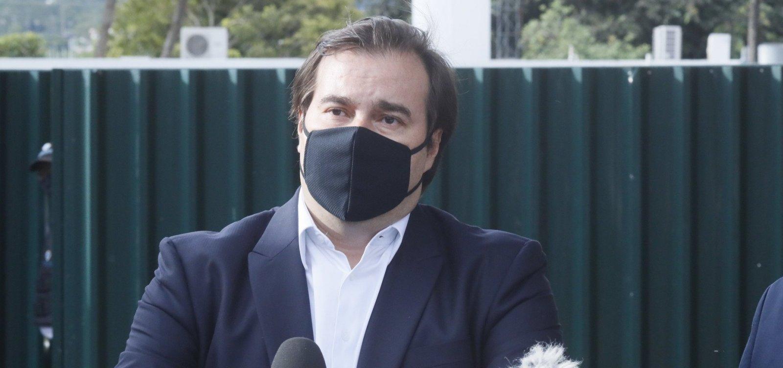 [Rodrigo Maia vai se reunir com embaixador chinês para tentar resolver crise no envio de insumos]