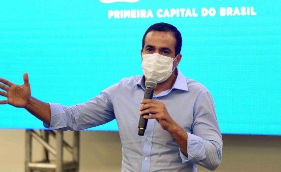 ['Ninguém pode dizer que estamos livres do risco de colapso', diz Bruno Reis]
