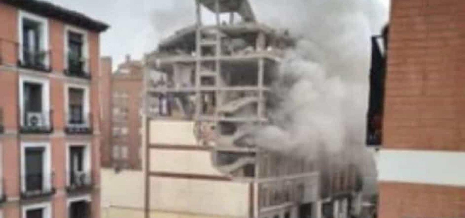 [Explosão em Madri deixa ao menos três mortos]