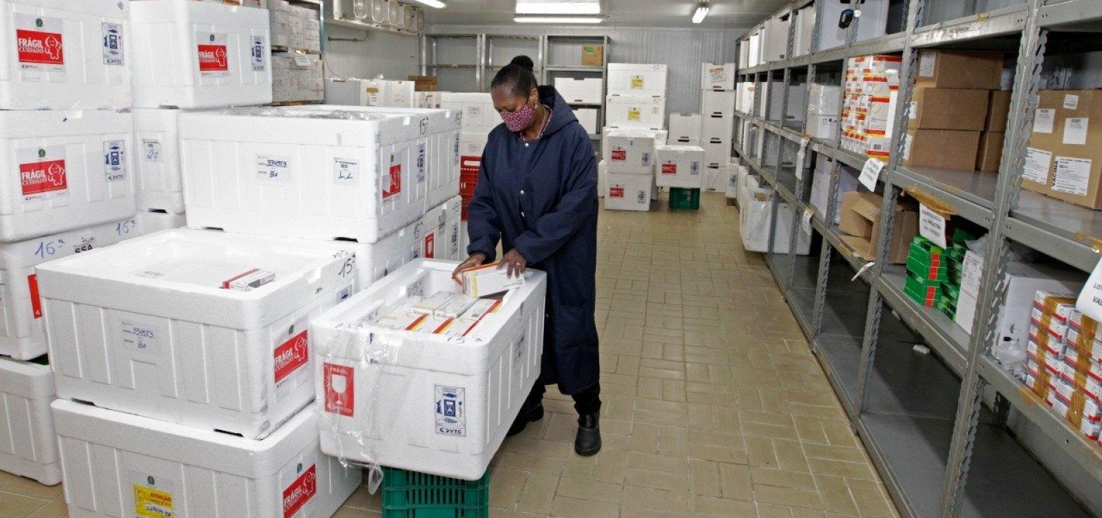 [Contra desvio de doses da vacina, MPF acompanha a imunização em 26 municípios da Bahia ]