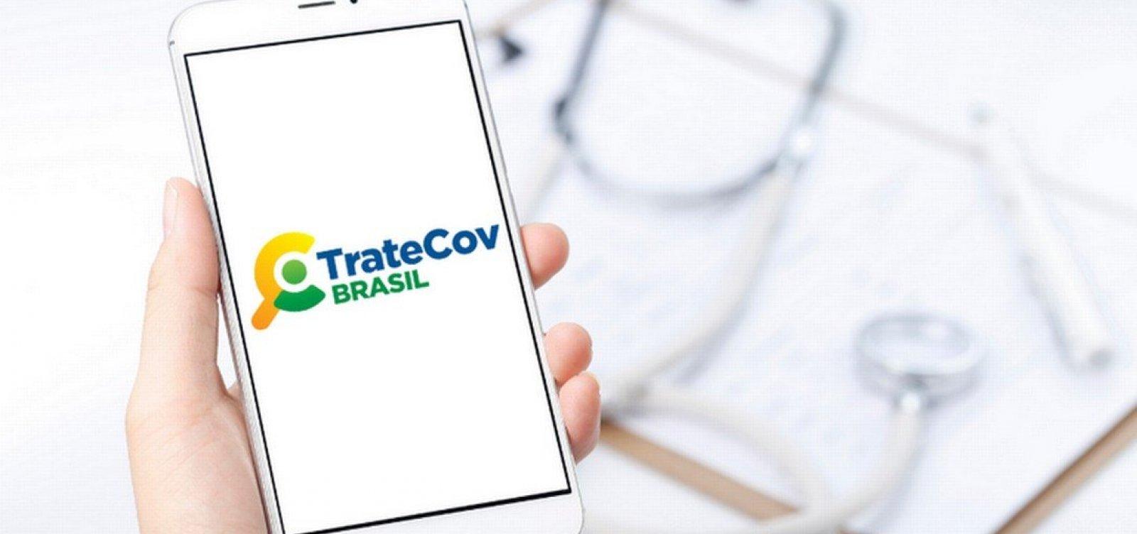 [App do Ministério da Saúde orienta 'tratamento precoce' para Covid-19 com medicamentos não comprovados]