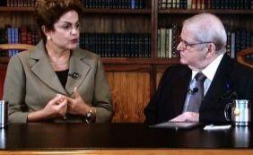 """[""""Fico bastante triste"""", afirma Dilma Rousseff sobre críticas ao seu governo]"""