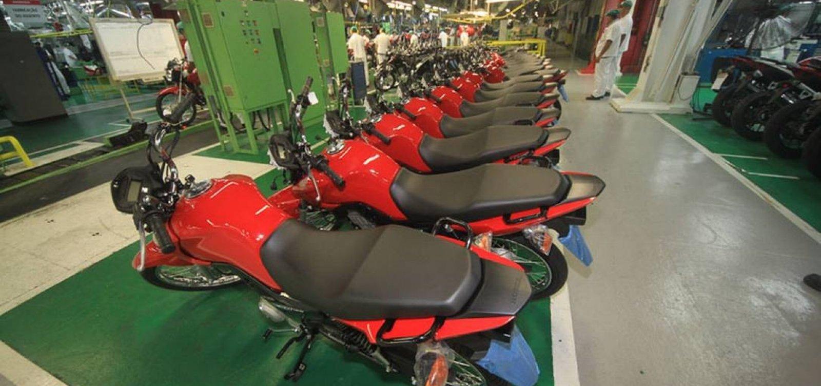 [Honda suspende temporariamente a produção de motos em Manaus]