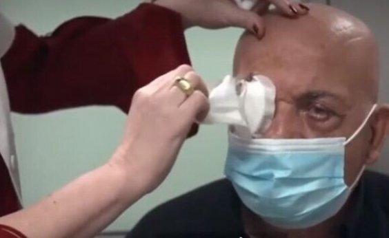 [Primeiro transplante de córneas artificiais devolve visão a homem em Israel]