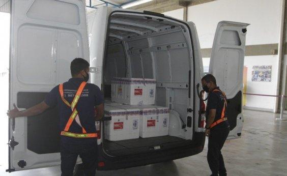 [Bahia inicia distribuição de 119.500 novas doses de vacina contra Covid-19]