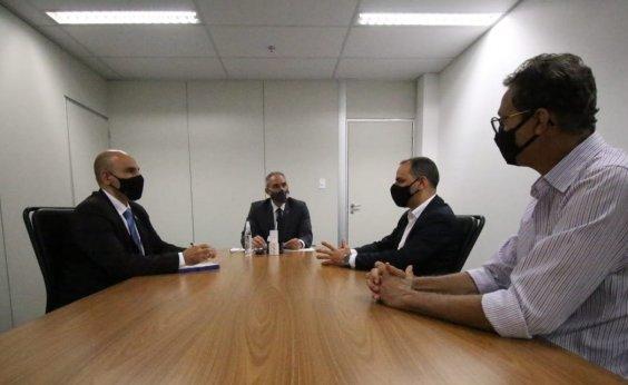 [SSP e representantes dos bancários discutem redução dos roubos contra instituições financeiras]