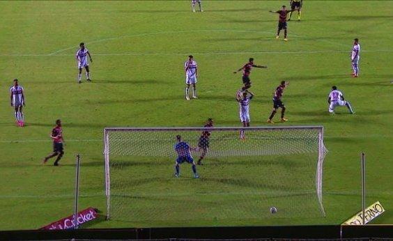 [Vitória vence o Botafogo-SP por 1 a 0 e se garante na Série B]