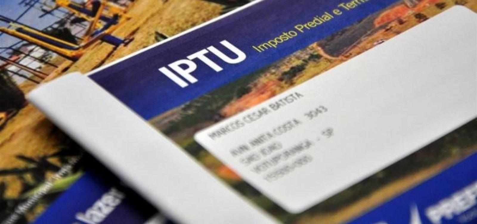 [Pagamentos do IPTU 2021 começam na segunda-feira em Salvador ]