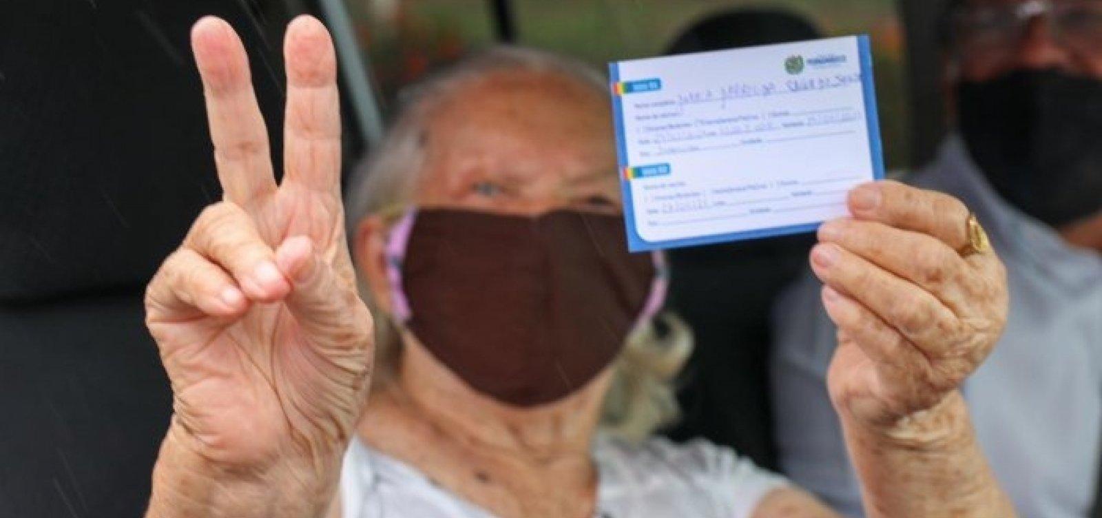 [Salvador começa a vacinar idosos com mais de 90 anos a partir da terça-feira; confira programação ]