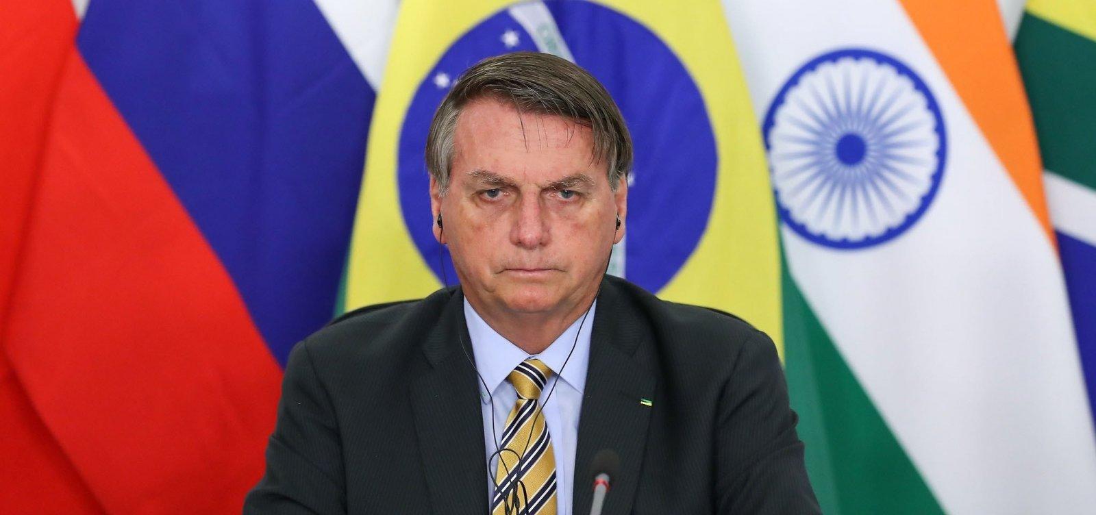 [Um dia após falar em possibilidade de recriar ministérios, Bolsonaro nega intenção de reabertura]