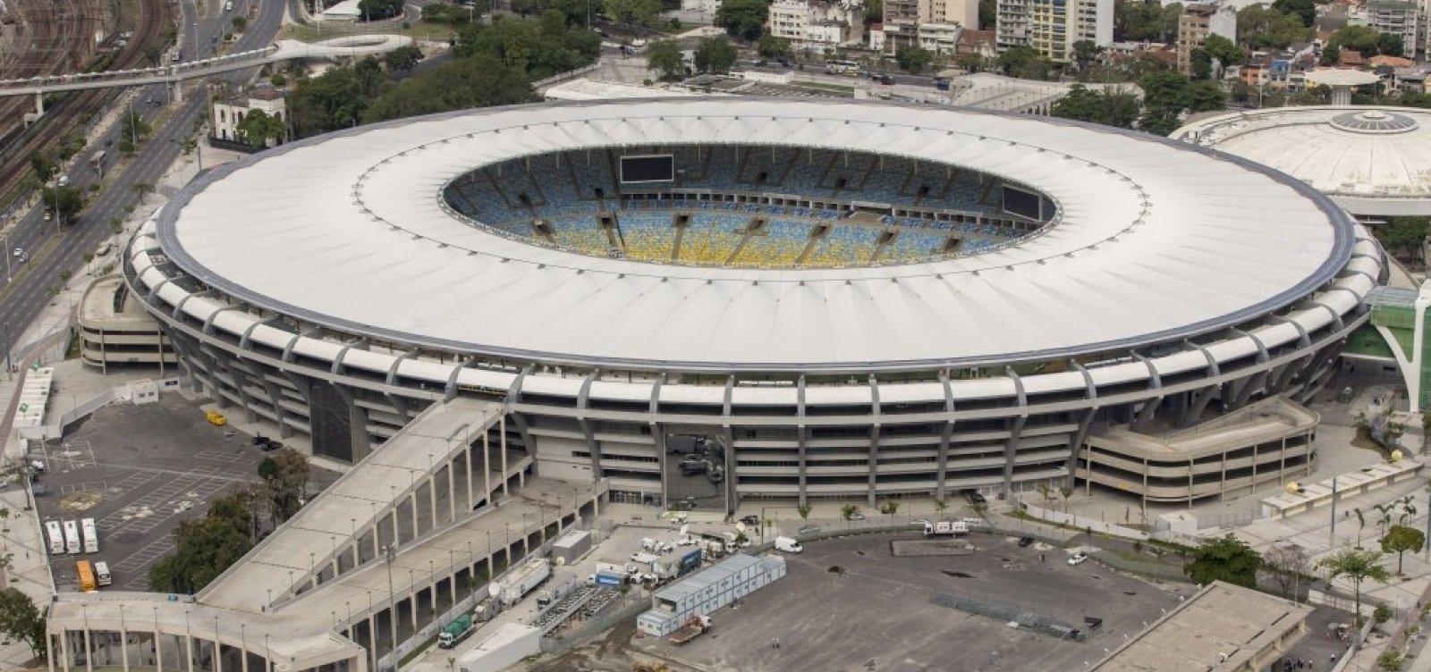 [Libertadores: PM e Bombeiros fazem operação para evitar aglomeração]