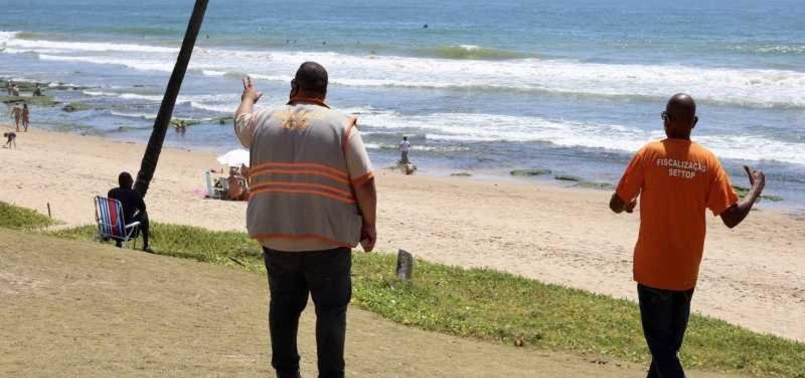 [Prefeitura de Lauro de Freitas prorroga decreto que proíbe comércio informal nas praias]