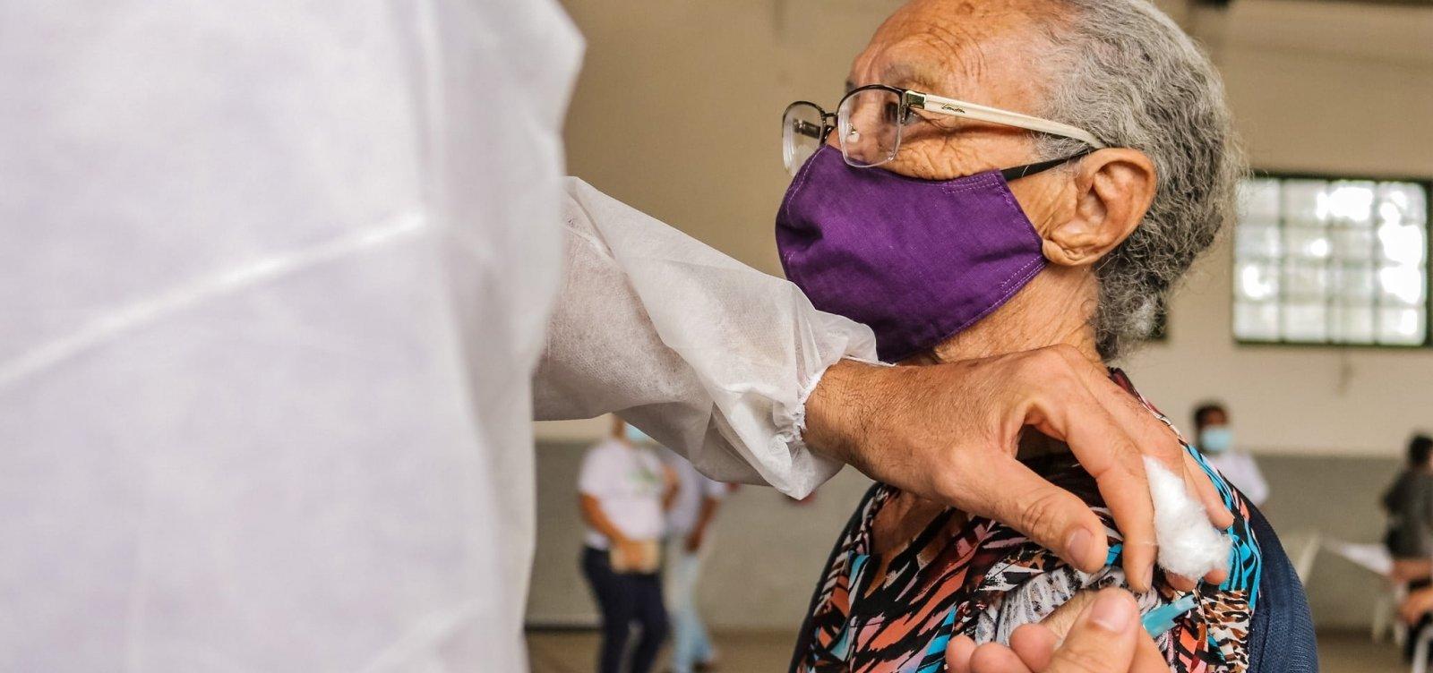 [Bahia vacina mais de 182 mil pessoas contra Covid-19; Salvador tem 46 mil vacinados]