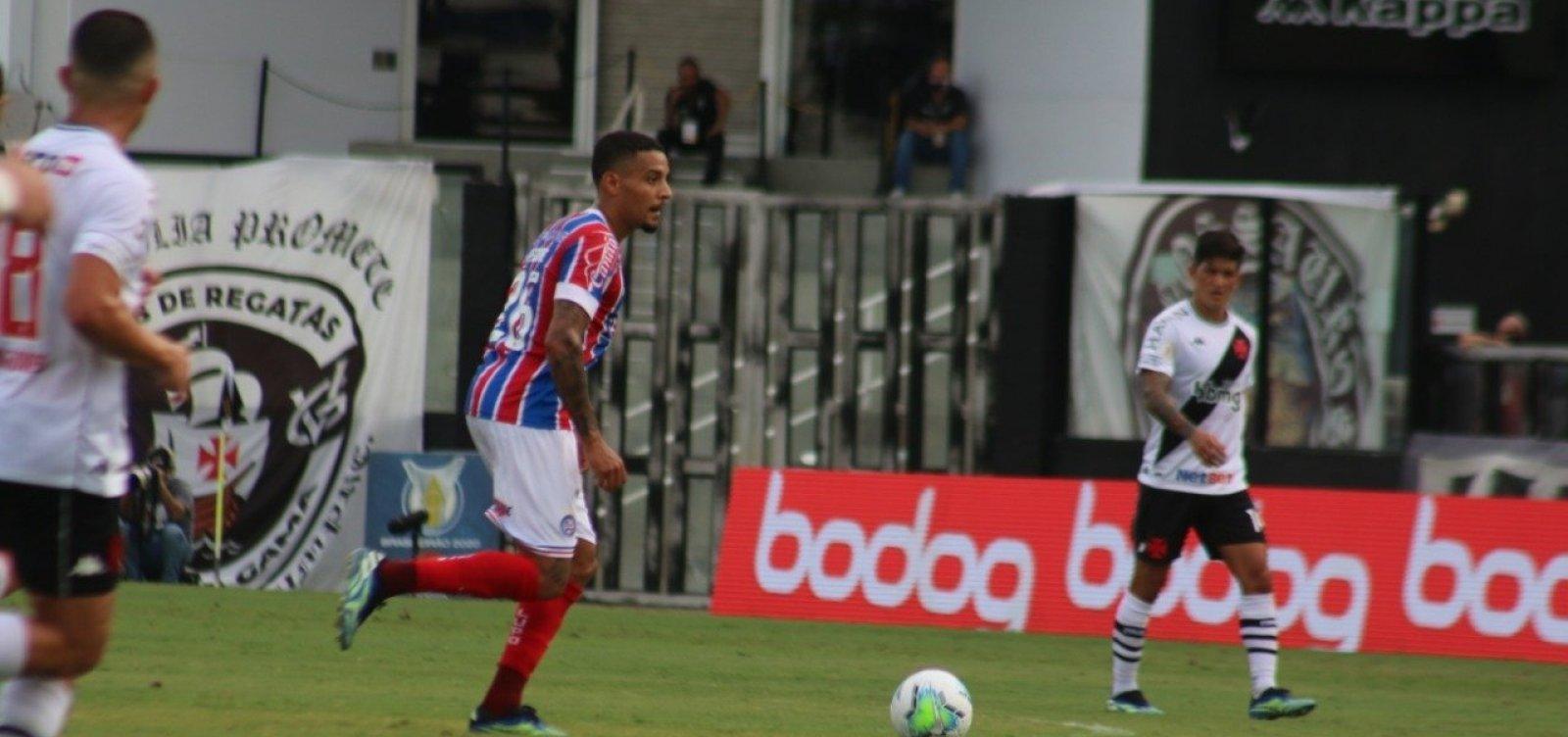 [Bahia e Vasco empatam sem gols pela Série A]