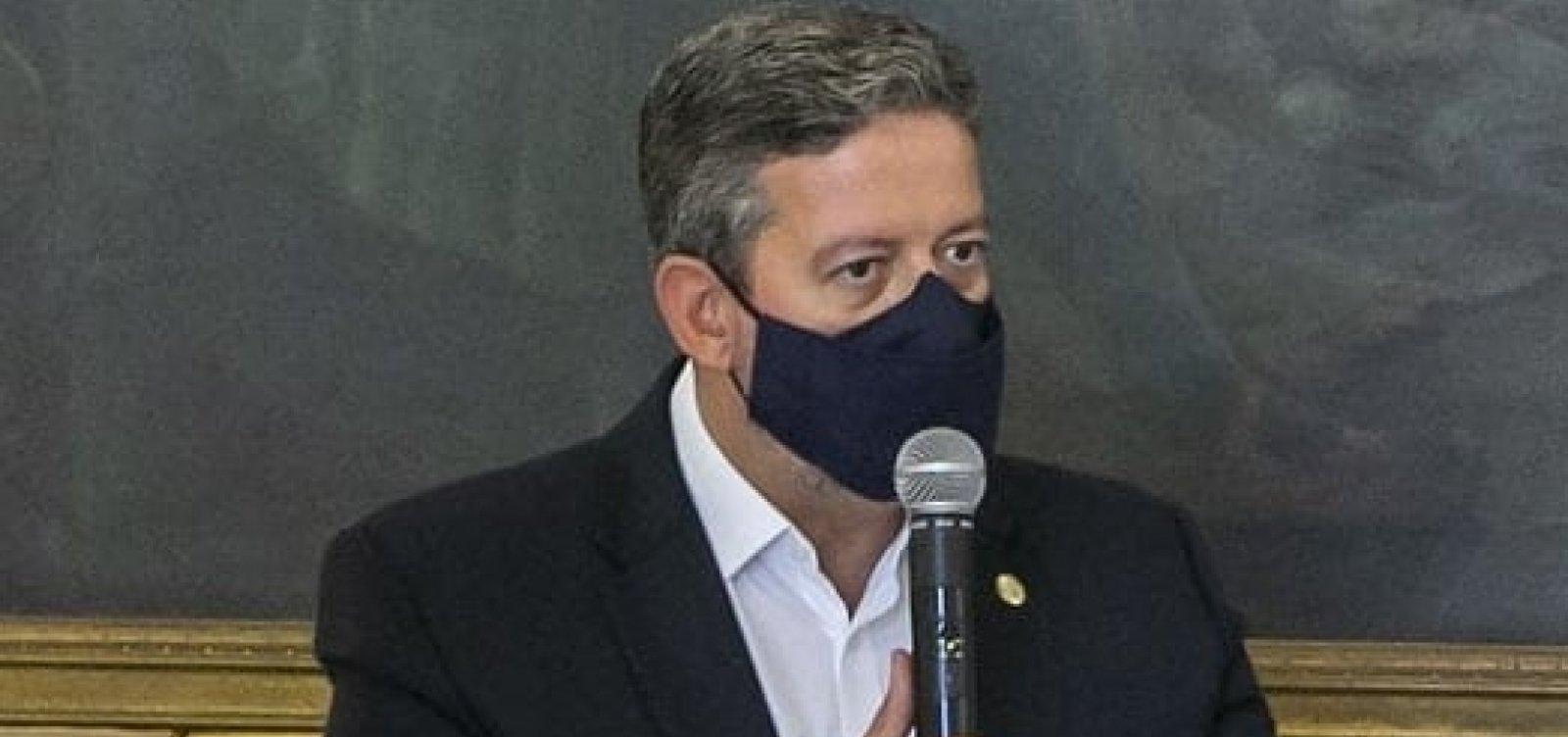 [Após abandono de Baleia Rossi pelo DEM, Arthur Lira insere anúncio de apoio do partido em sua agenda]