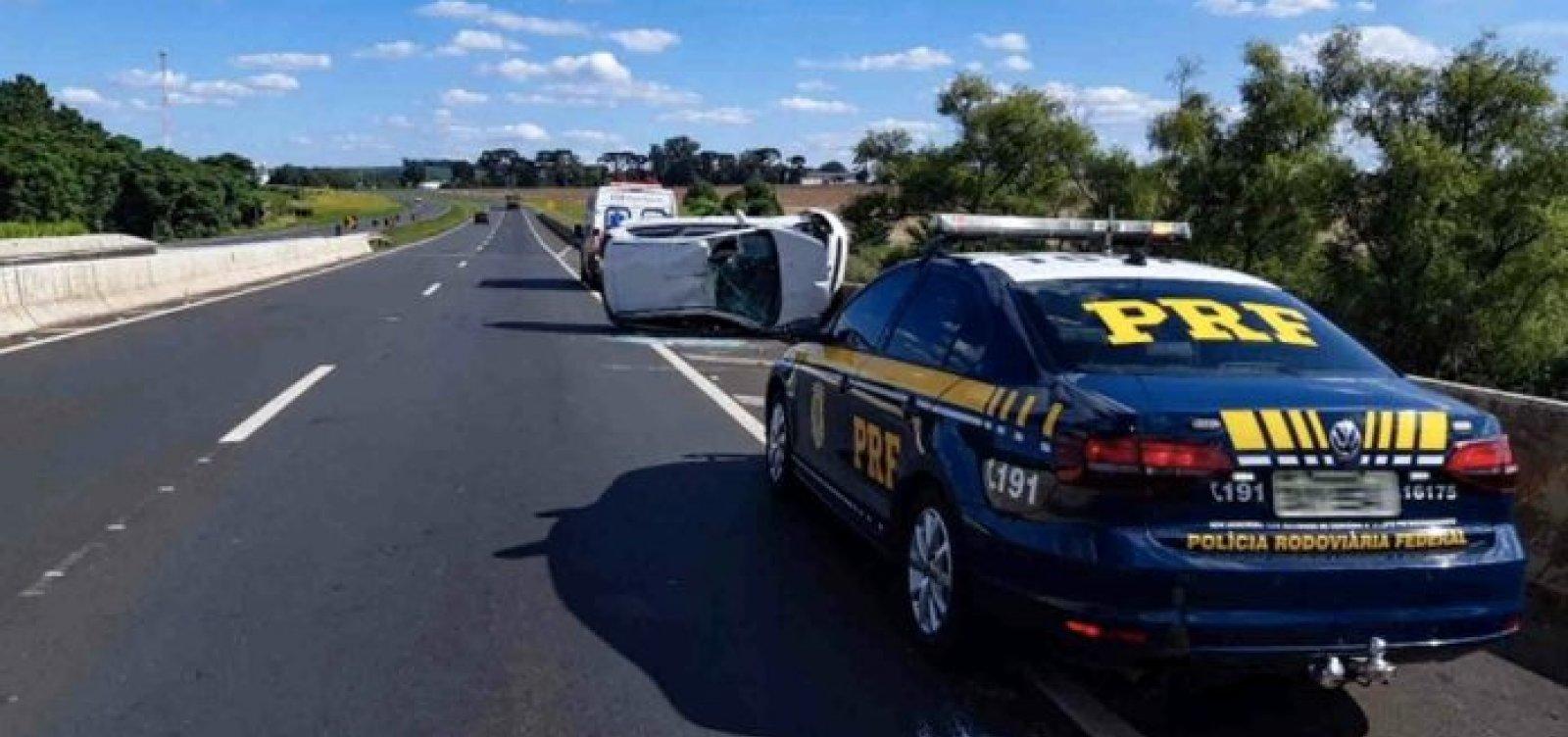 [Registros de acidentes caem nas rodovias federais, mas número de mortes aumenta]