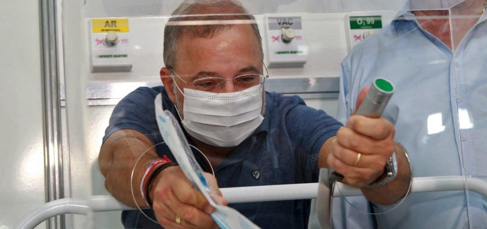 [Bahia tem segunda menor taxa de mortalidade por Covid-19 do país, diz secretário da Saúde]